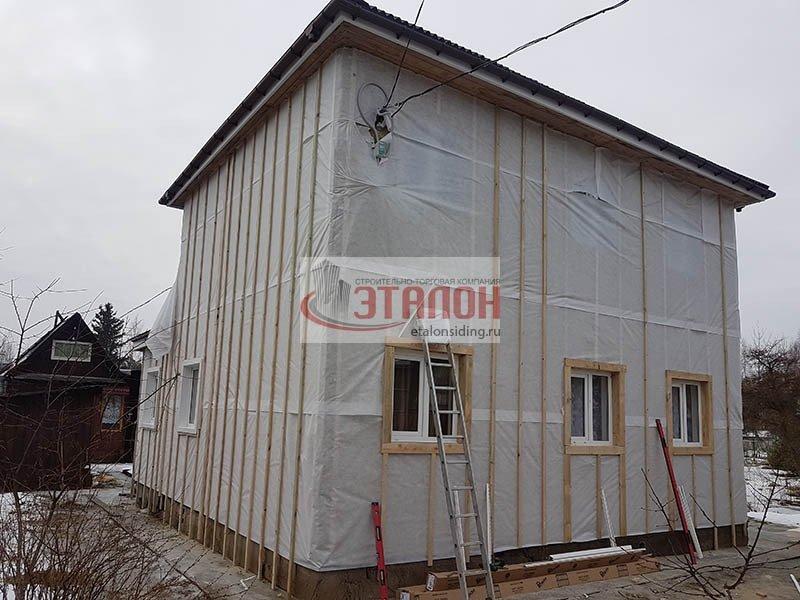 ветрогидроизоляция утеплителя под сайдингом etalonsiding.ru